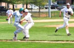 Colin Cox tags one  on 4/23/13 vs. Hagerstown Community College